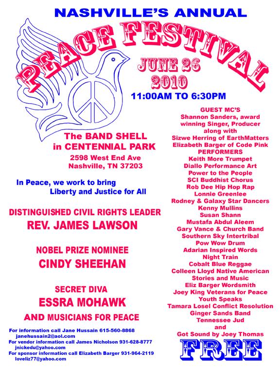 Peace Fest BLUE 2010